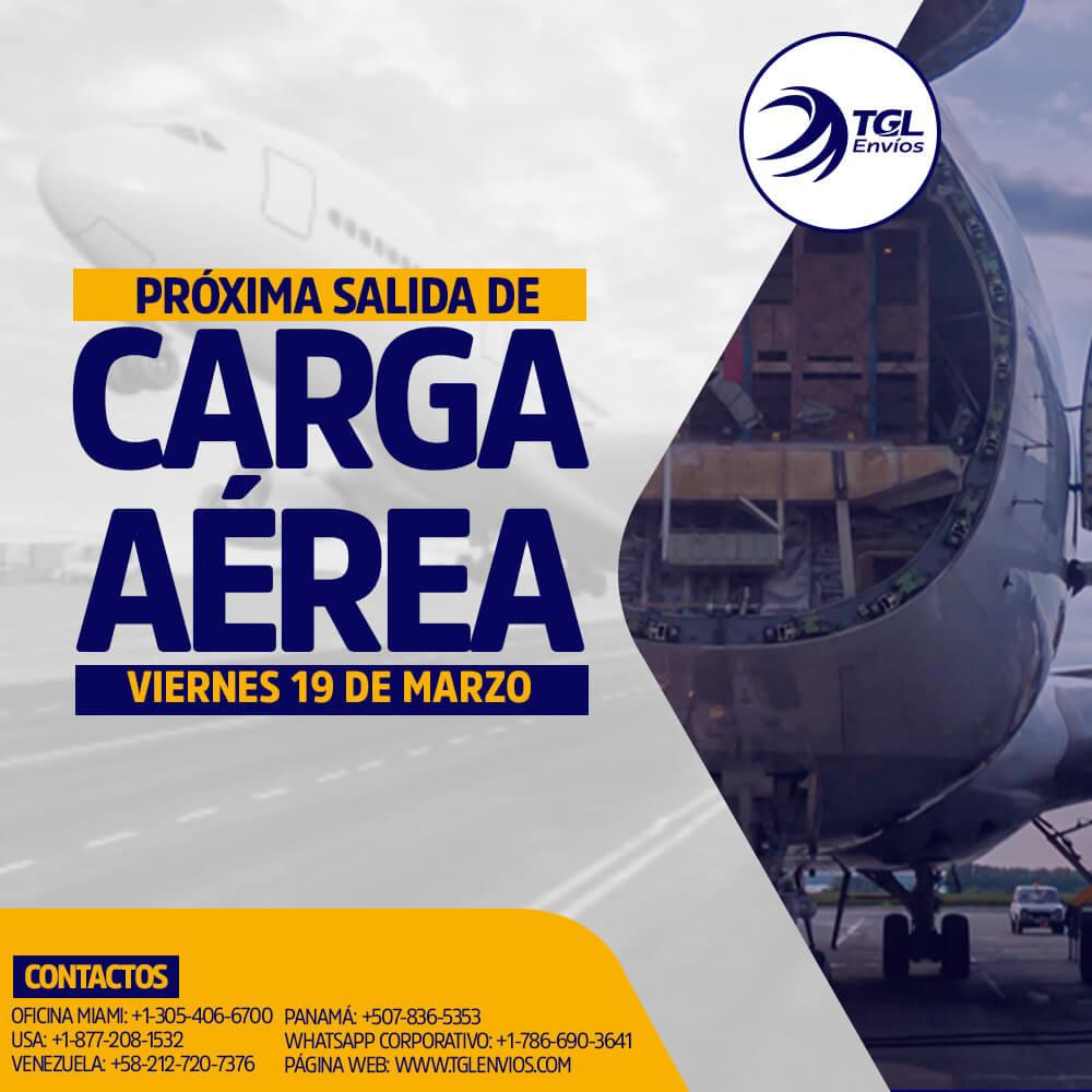carga aerea TGL Envios