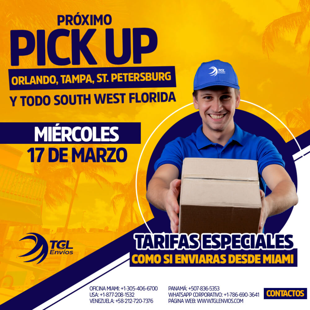pick up TGL Envios