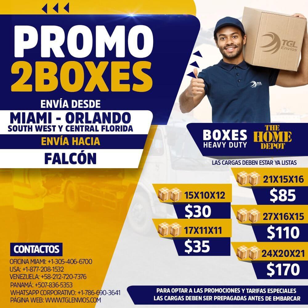 tgl envios promo2boxes falcon2
